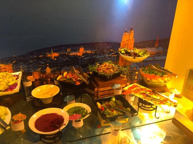 Salad Bar and Dips